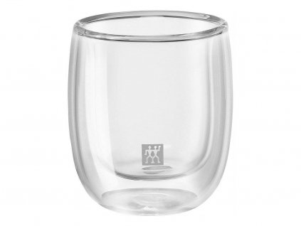 Zwilling Sorrento dvoustěnná sklenice na espresso 80ml - 2ks