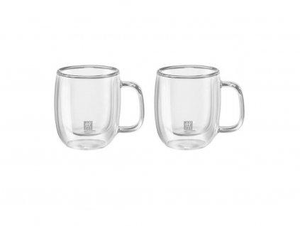 Zwilling Sorrento Plus dvoustěnná sklenice na espresso 80ml - 2ks