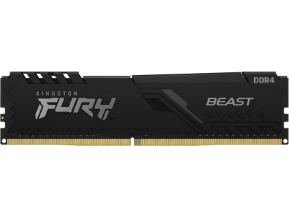 Kingston Fury Beast DIMM DDR4 8GB 2666MHz černá