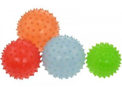 Masážní míček LIFEFIT 7cm - červený