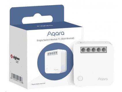AQARA Spínací modul (se svorkou pro neutrál) Smart Home Single Switch Module T1 (With Neutral)