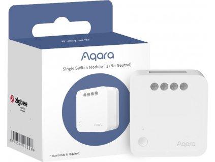 AQARA Spínací modul (bez svorky pro neutrál) Smart Home Single Switch Module T1 (No Neutral)