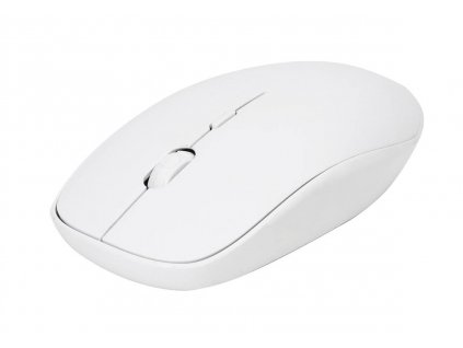 Omega myš bezdrátová OM0423WW, 1600 DPI, bílá