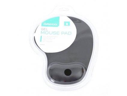 Omega OMPGB GELOVÁ podložka pod myš, černá
