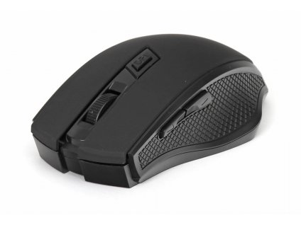 Omega myš bezdrátová OM08WB, 1600 DPI, černá
