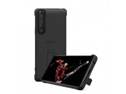 SONY Stand Cover pro Xperia 1 III 5G černý