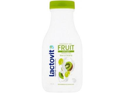 Lactovit FRUIT Kiwi a hrozny Sprchový gel antioxidační 300ml