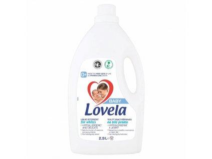 Lovela Baby tekutý prací přípravek na bílé prádlo 2,9 l / 32 pracích dávek