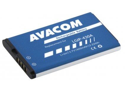 Avacom baterie do mobilu LG KP100 Li-Pol 3,7V 600mAh (náhrada LGIP-430A)