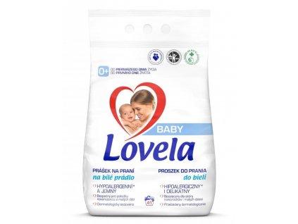 Lovela Baby prášek na praní na bílé prádlo 4,1 kg / 41 pracích dávek
