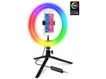 CONNECT IT Selfie10RGB kruhové RGB LED světlo