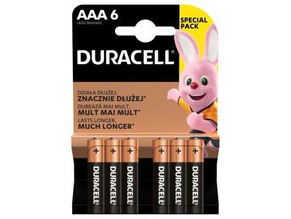 DURACELL Basic AAA 6ks