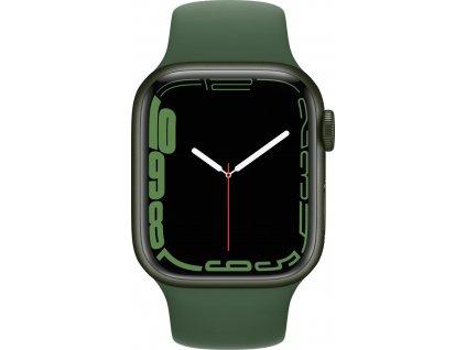 APPLE Watch Series 7, 41mm Green/Clover SportBand (mkn03hc/a)
