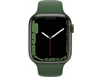 APPLE Watch Series 7, 45mm Green/Clover SportBand (mkn73hc/a)