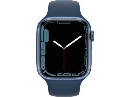 APPLE Watch Series 7, 45mm Blue/A.Blue SportBand (mkn83hc/a)