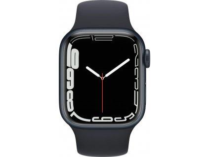 APPLE Watch Series 7, 41mm Midnight/Midnight SportBand (mkmx3hc/a)