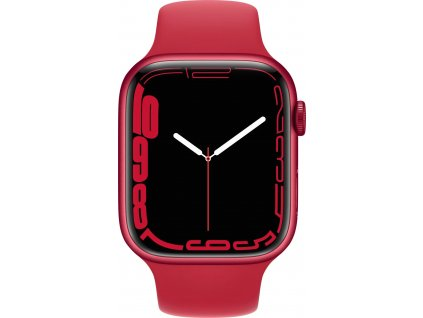 APPLE Watch Series 7, 45mm (P)RED/(P)RED SportBand (mkn93hc/a)