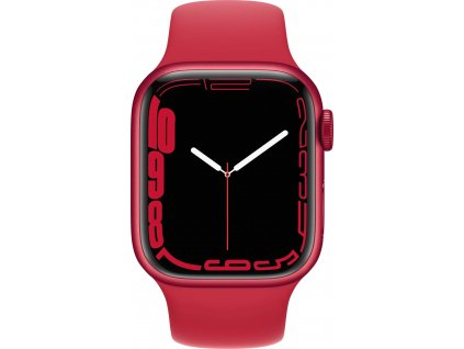 APPLE Watch Series 7, 41mm (P)RED/(P)RED SportBand (mkn23hc/a)