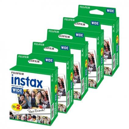 instantnecz fujifilm instax wide film 100ks