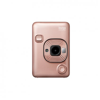 instantnecz fujifilm instax mini liplay blush gold ruzova 1