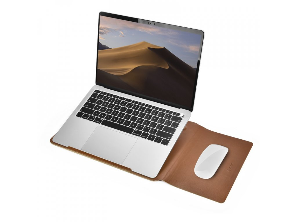 coteetci macbook multifunction leather liner bag 13 inch 2