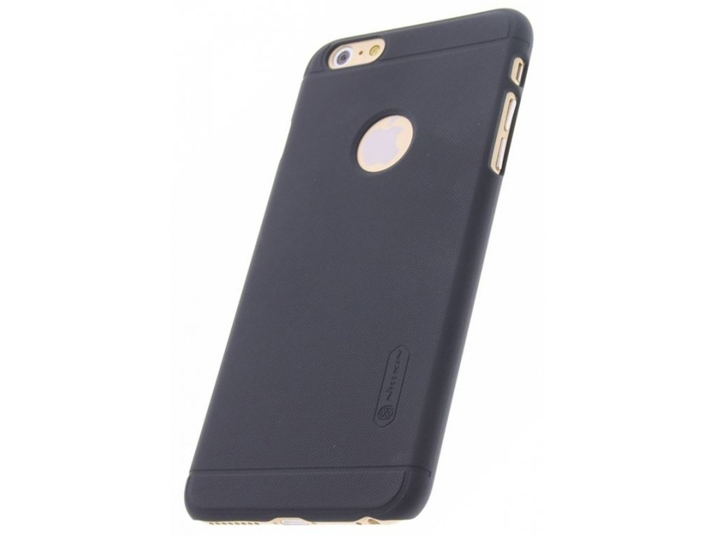 nillkin super frosted shield ochranny kryt apple iphone 6 6s plus cerna black zezadu 4