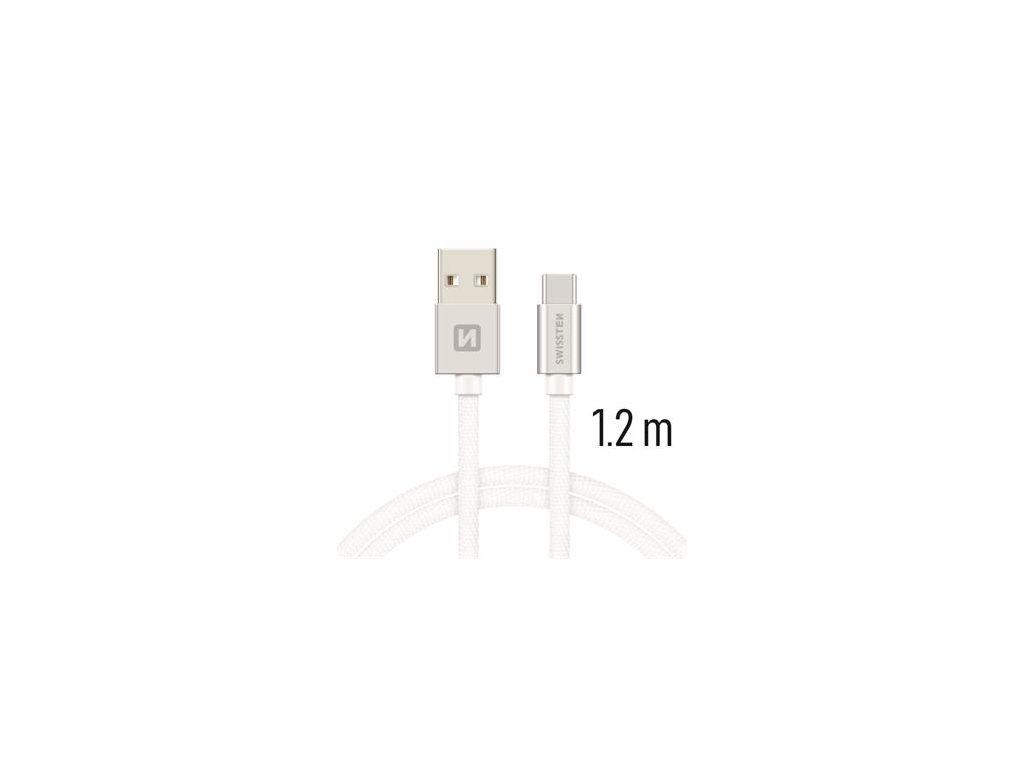 SWISSTEN USB/USB-C kabel 1.2m