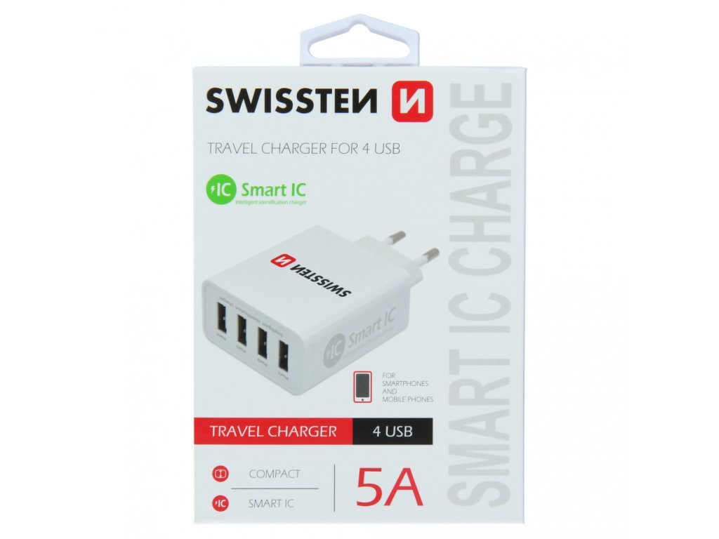 Swissten Travel Charger