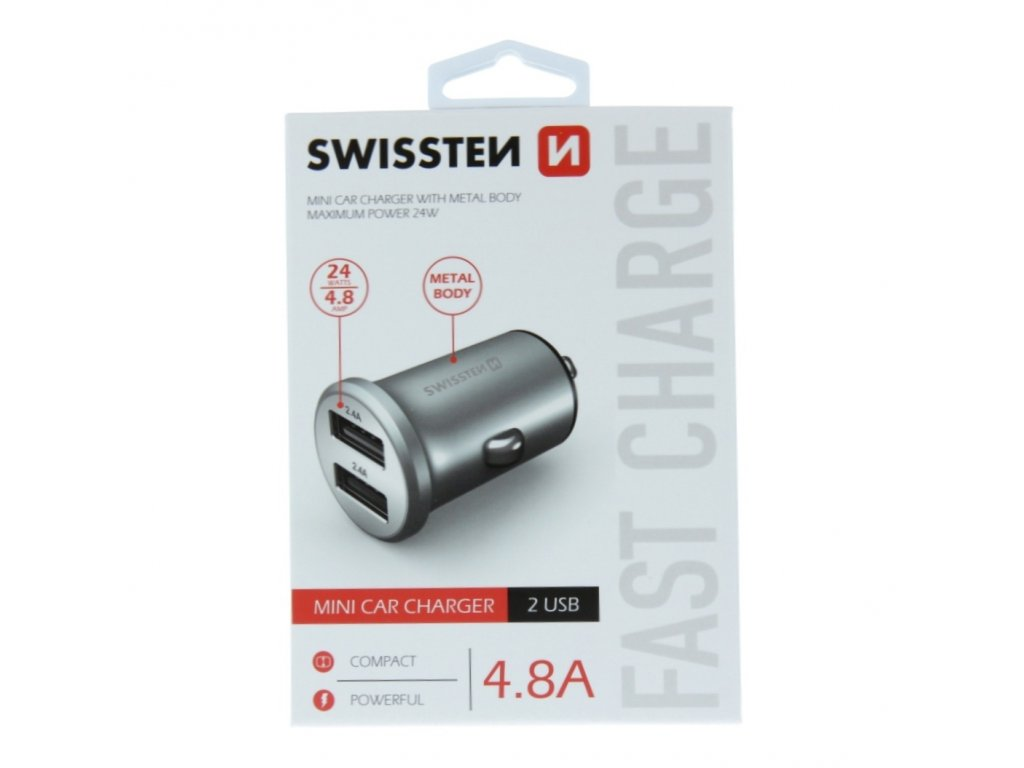 Swissten Mini Car Charger