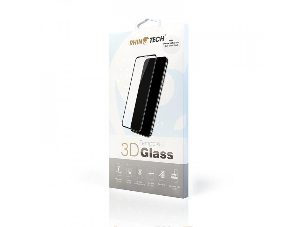 rhinotech 2 tvrzene ochranne 3d sklo pro apple iphone 12 pro max