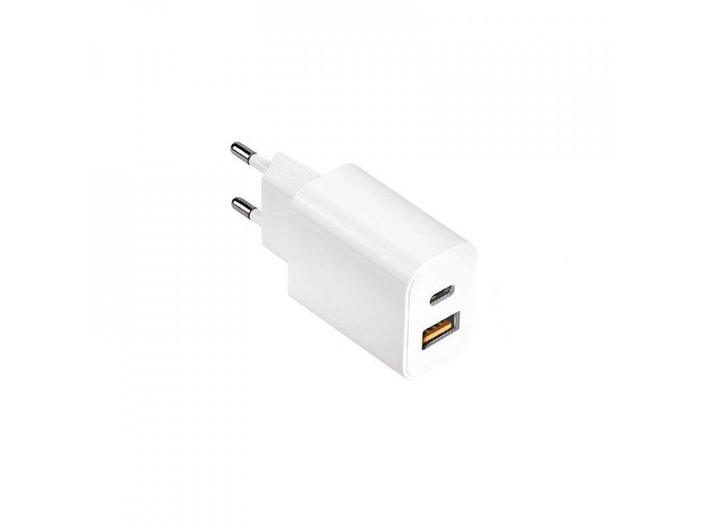 coteetci pd smart charger 20w qc3 0 usb type c white