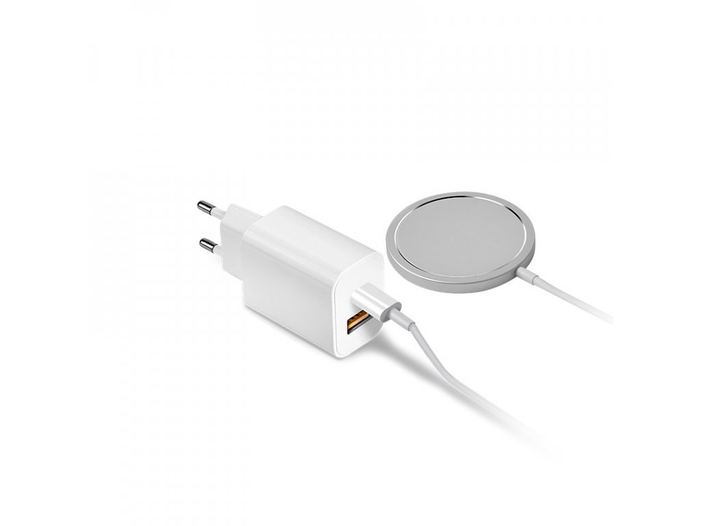 coteetci magsafe pd charger usb a type c port white