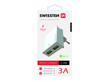 Swissten Travel Charger - Extra Fast Charge