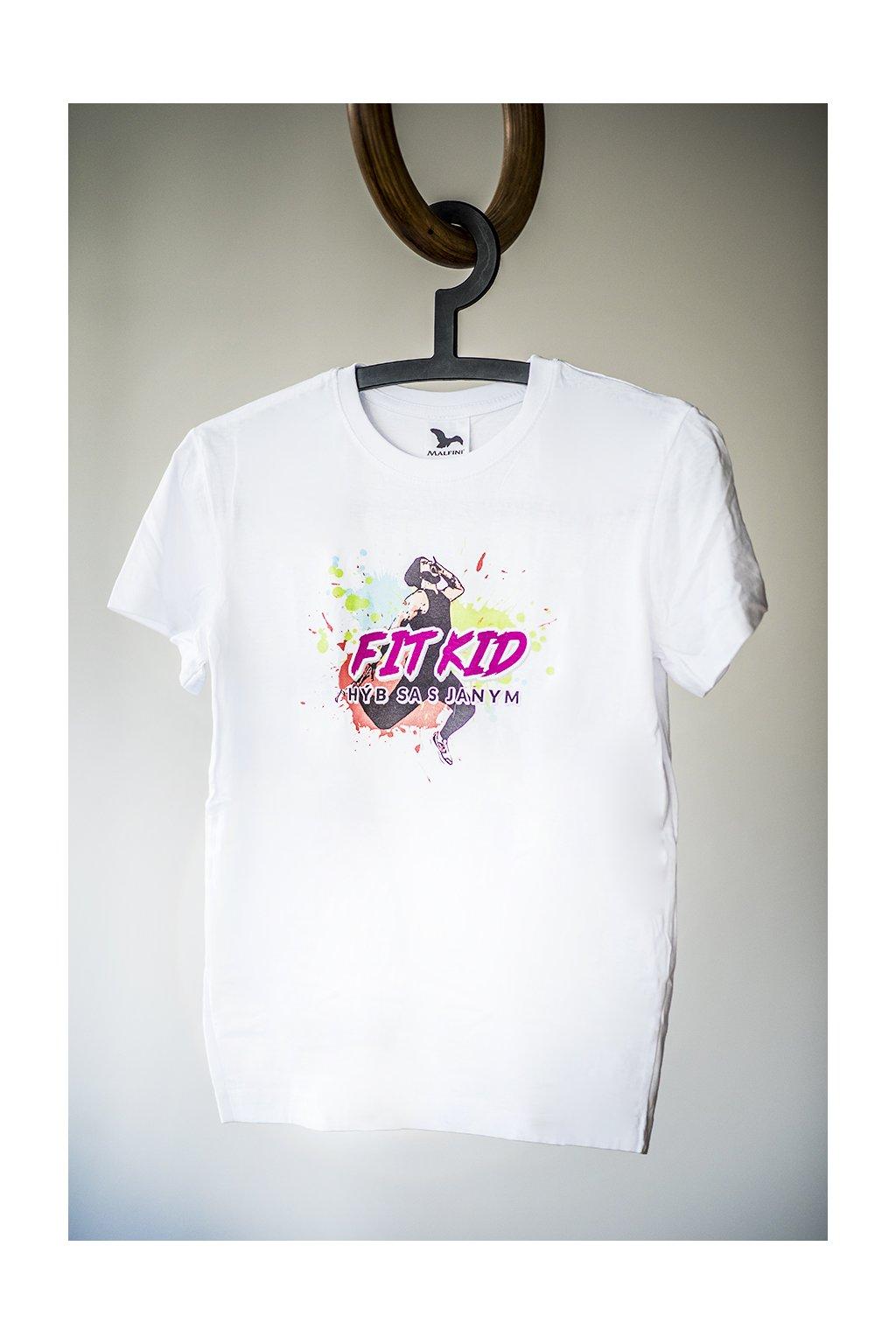 Detské bavlnené tričko FIT KID