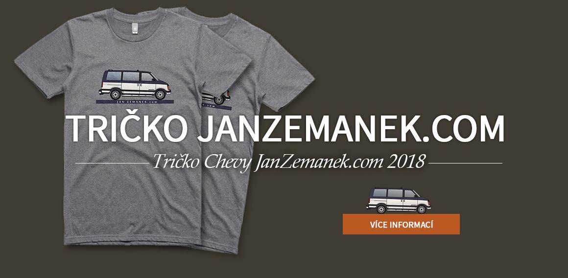 Tričko JanZemanek.com