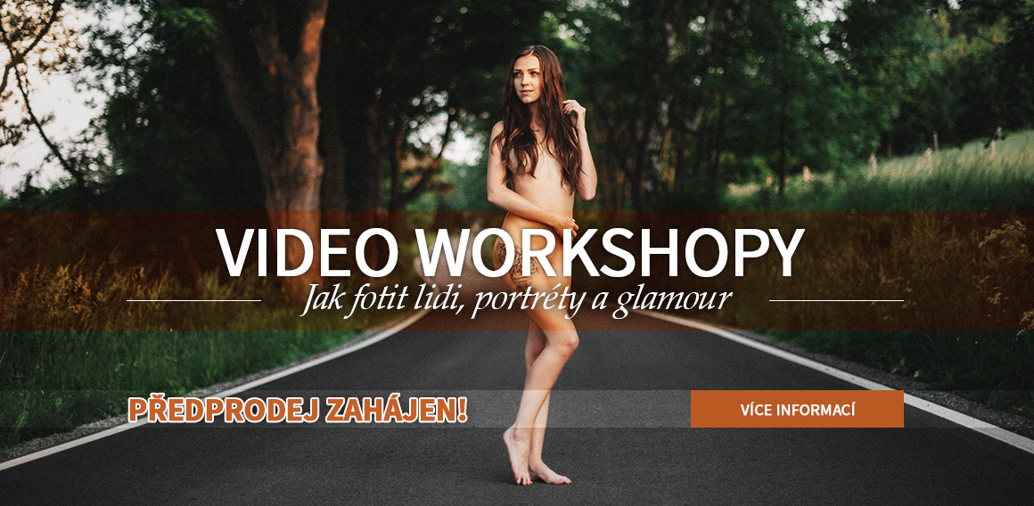 video workshopy - předprodej