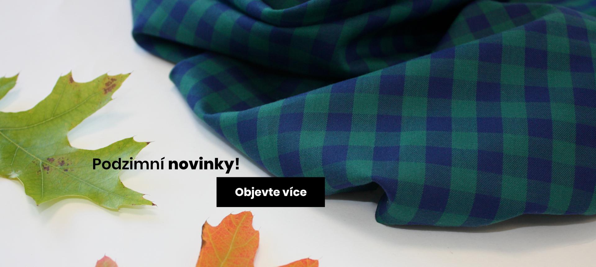 Podzimní novinky na Jedu v šití!