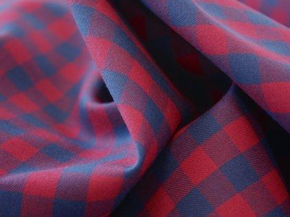 Bavlněný kepr TIMBER RED