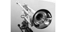 M.Jiracek model 139S, B trumpeta, stříbrná,  mistrovský nástroj.
