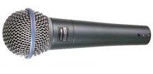 Shure Beta 58A, mikrofon dynamický.