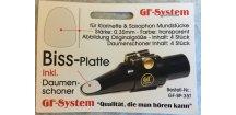 GF system - gumový chránič na hubičku 0,35mm transparentní
