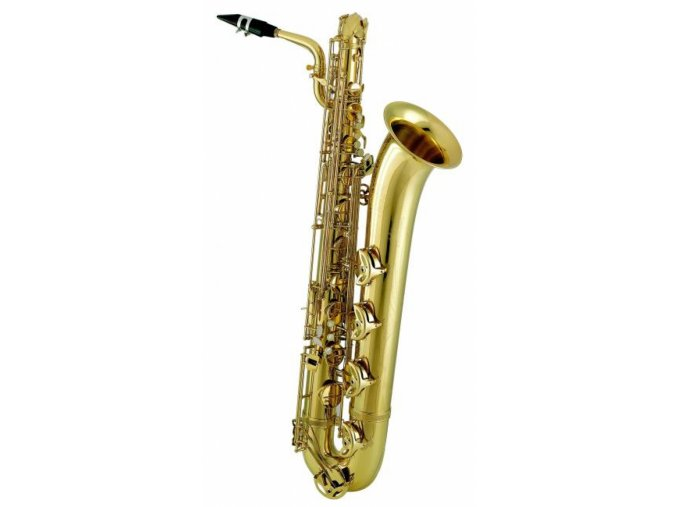 Amati Es Baryton saxofon ABS 64S-OK, postříbřený