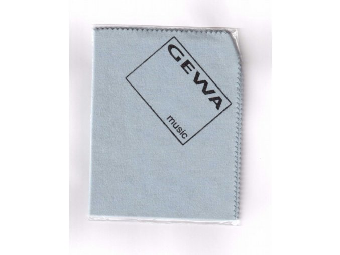 Čistící utěrka pro stříbrné nástroje GEWA