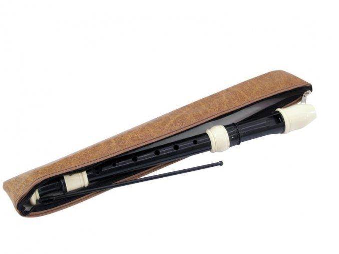 Dimavery, flétna sopránová zobcová, barokní prstoklad.