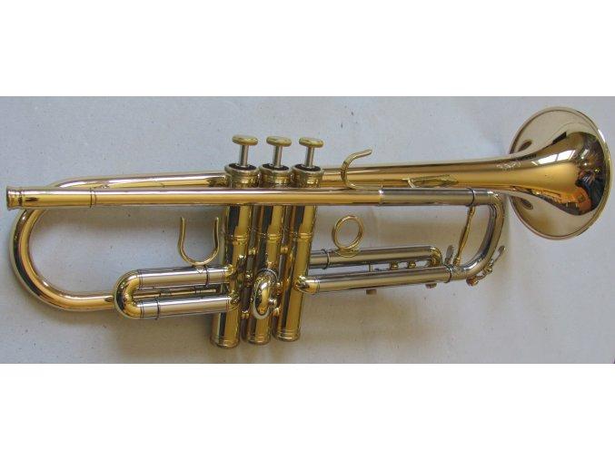 M.Jiracek model 135GL - Bb trumpeta perinetová