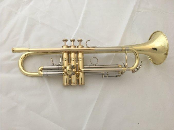 M.Jiracek model 136L- Bb trumpeta, lakovaná