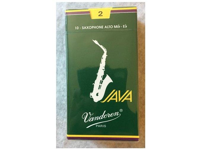 Vandoren Java plátky pro Alt saxofon 2