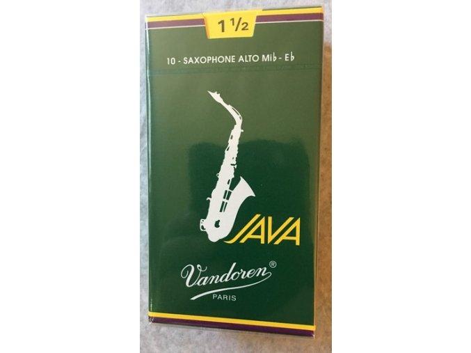 Vandoren Java plátky pro Alt saxofon 1 1/2