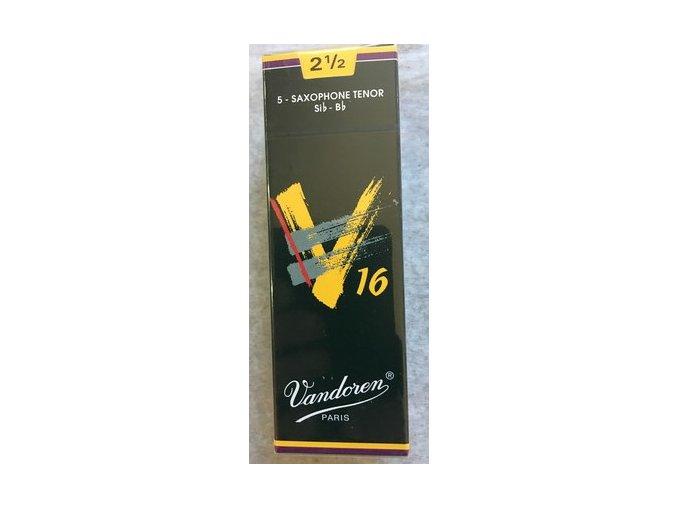 Vandoren V16 plátky pro Tenor saxofon 2 1/2