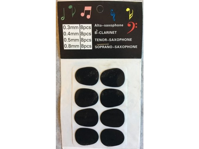 Gumový chránič na hubičku 0,5mm černý